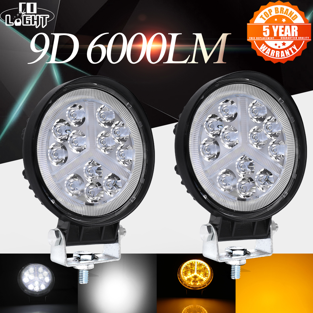 CO LUMINĂ 48W Led Bar Off road 4