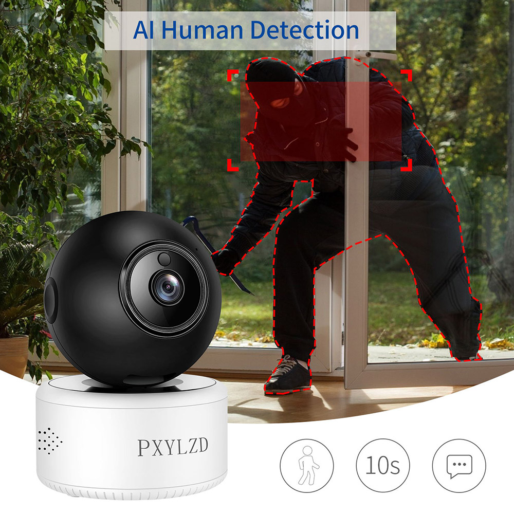 3MP 2K Camera IP Wifi Camera de Securitate de Origine H. 265X de Stocare HD Night Vision AI Umanoid de Detectie Supraveghere Video Baby Monitor