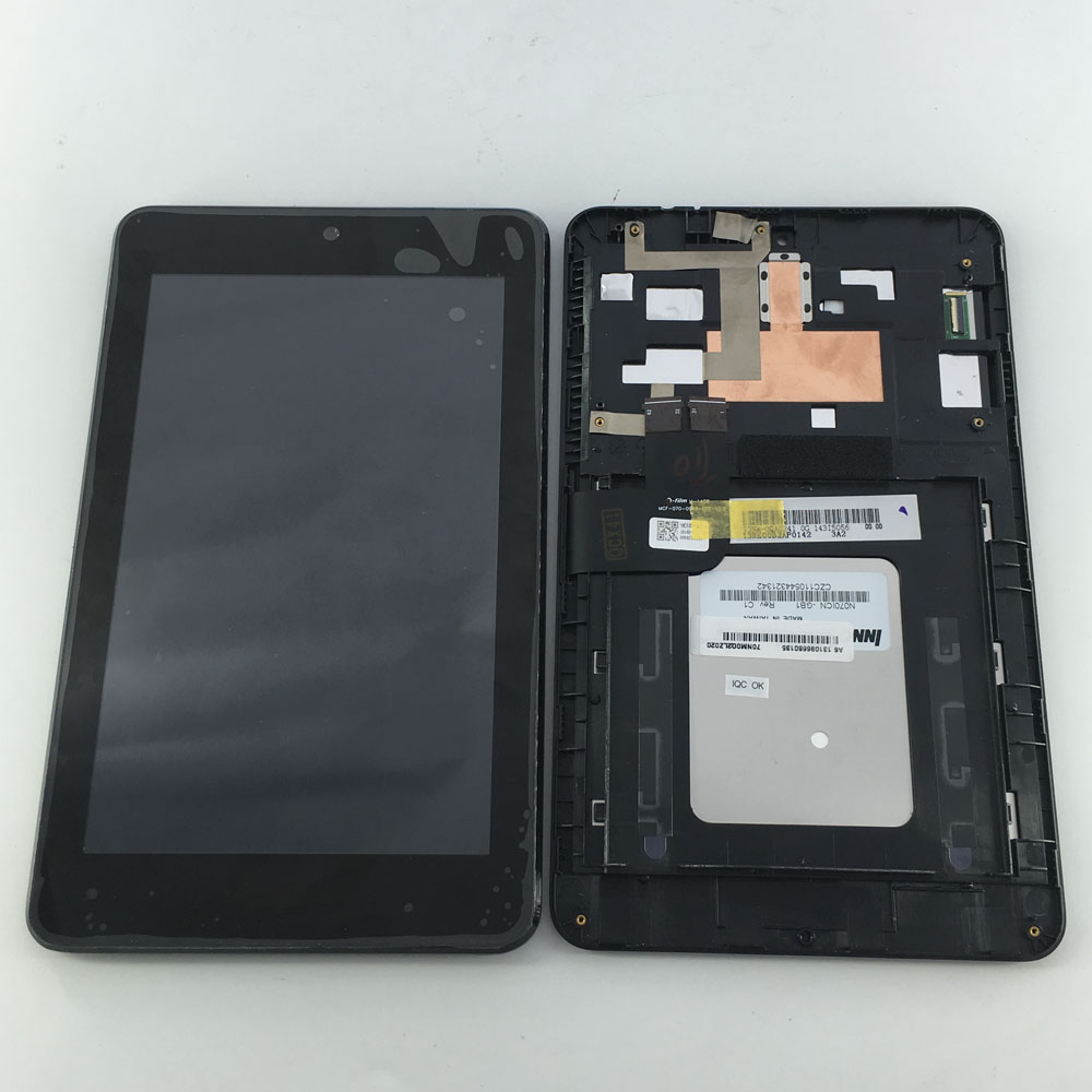 N070ICN -GB1 și LD070WX4-SM01 Display LCD Touch Screen Digitizer Sticla de Asamblare Pentru Asus MemoPad HD7 ME173 ME173X K00B